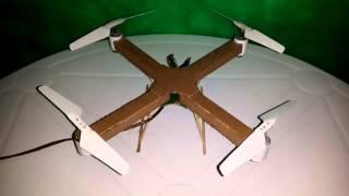 Como Fazer um Drone (quadricóptero) Caseiro de Papelão