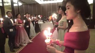 JS candle lighting