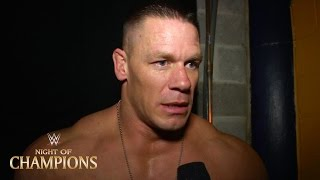 John Cena: Exclusive post-match Night of Champions interview