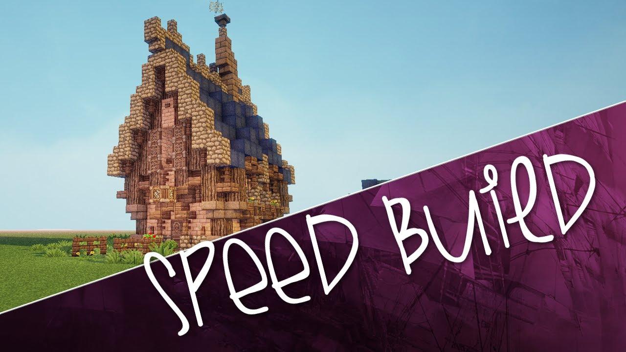 Minecraft Speed Build Challenge