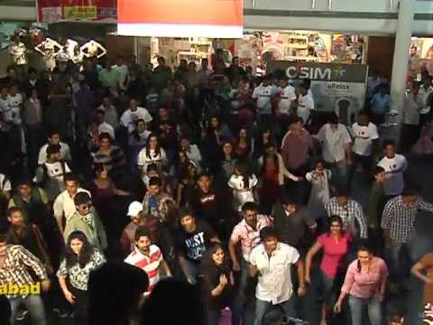 REDFM HYDERABAD  FLASH MOB