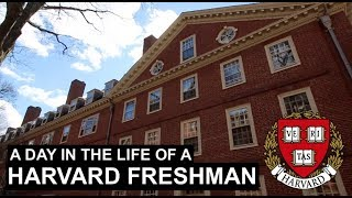 A Day in the Life of a Harvard Freshman