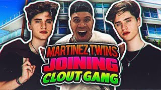 MARTINEZ TWINS JOIN CLOUT GANG!! (TRUTH ABOUT JAKE PAUL)