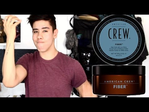 AMERICAN CREW: FIBER - MEN'S HAIR PRODUCT TUTORIAL   JAIRWOO
