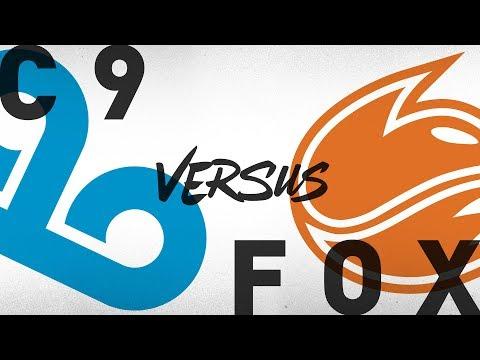 C9 vs. FOX - Week 3 Day 2 | NA LCS Summer Split | Cloud9 vs. Echo Fox (2018)