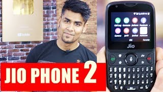 Jio Phone 2 | Whatsapp ? Wifi Hotspot ? | Quick Review and Features