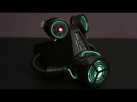 NeoPixel LED Gas Mask - 3D Thursday