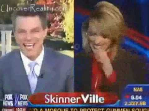 The two anchors of Fox News caught with sex bloopers.