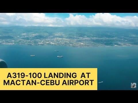 Landing at Mactan-Cebu International Airport