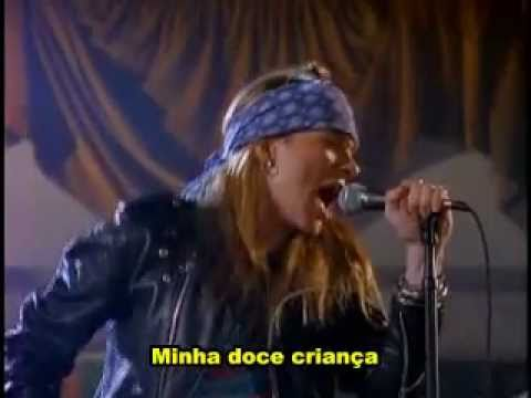 Guns N' Roses - Sweet Child O' Mine(Legendado)