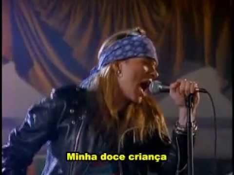 Guns N' Roses - Sweet Child O' Mine(Legendado)