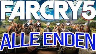 Far Cry 5 Guide - Alle Enden - All Endings - Cutscenes