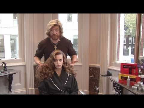 Hair Tutorial - Nicky Clarke Old School Hollywood Glamour
