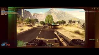 battlefield 4 Tank game play hardcore 53-3