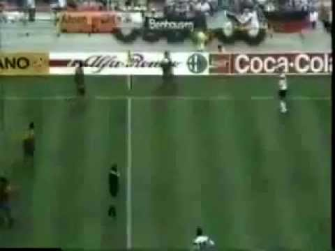 Italia 90. Colombia 1 Vs Alemania 1. Últimos Minutos