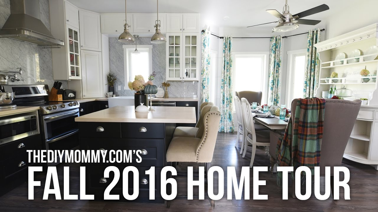 2016 FALL HOME TOUR // Cozy, Colorful, Natural Autumn Decor Ideas