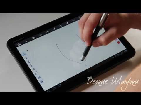Стилус для графических планшетов своими руками