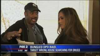 Detroit police raid wrong house for drugs