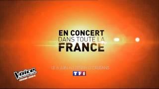 Ba The voice 3 La Plus belle voix la tournée TF1   2014