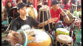 SUKET TEKI Kendang Jaipong - JATHILAN Kuda Lumping Kesurupan - HORSE DANCE Music [HD]