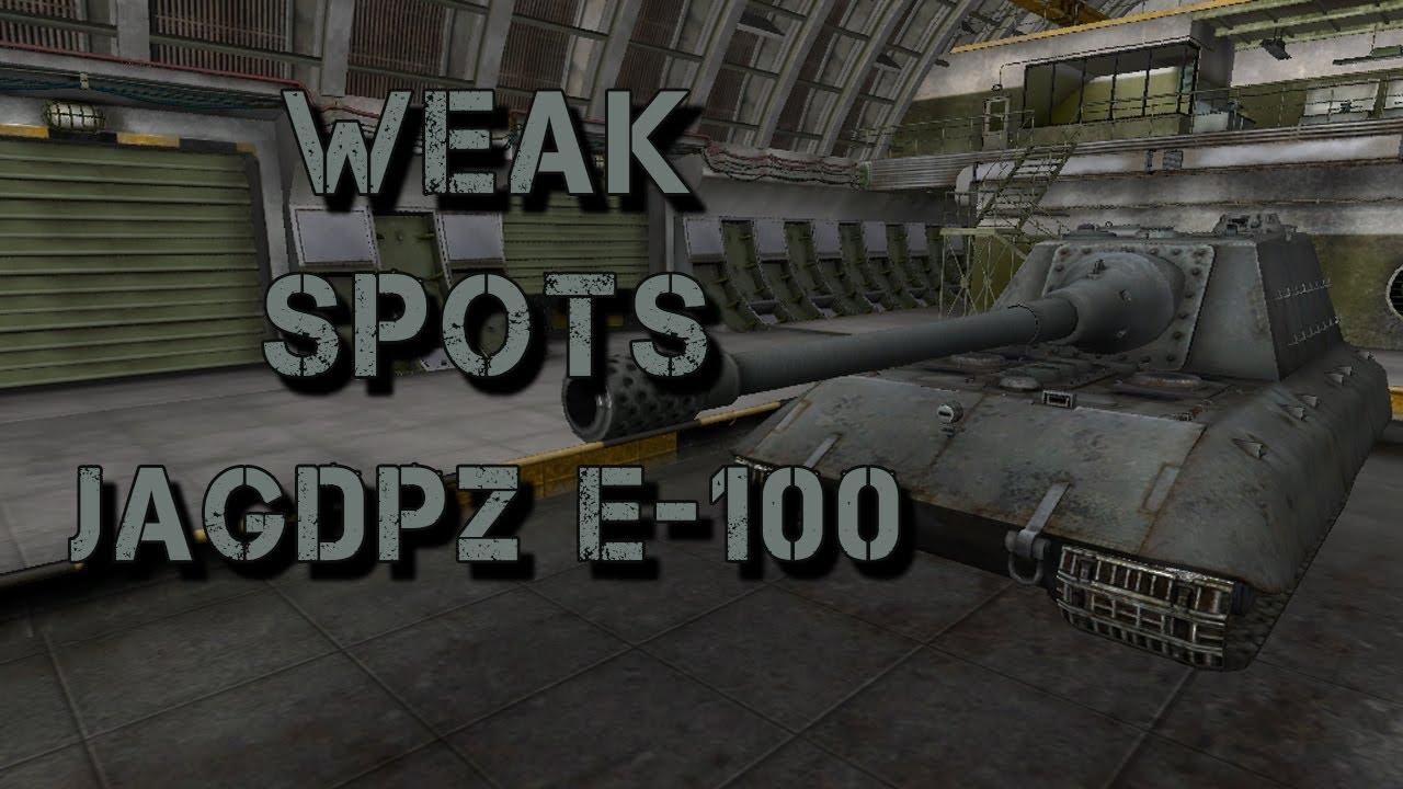 Weak Spot Guide E100  World of Tanks Guru