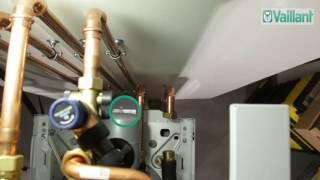 5. Riempimento impianto con scambiatore separazione - uniTOWER