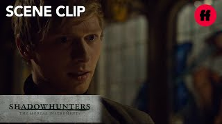 Shadowhunters | Season 2 Episode 17: Max Knows The Truth About Sebastian | Freeform