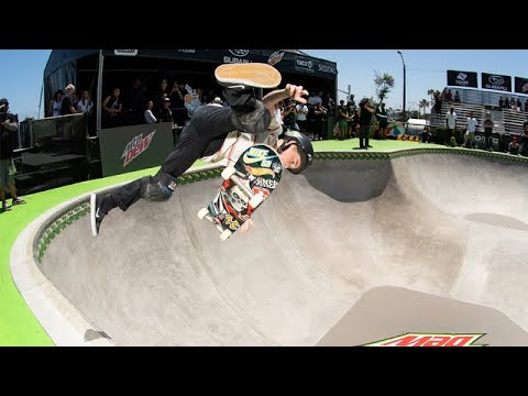 Men's Am Park Final Recap Video | Dew Tour Long Beach 2018