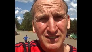 Christopher Eccleston - Heaton Park - Angry Rant (2019)