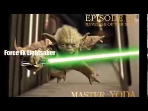 Master Replicas fx Lightsaber Yoda Yoda Force fx Lightsaber 2007