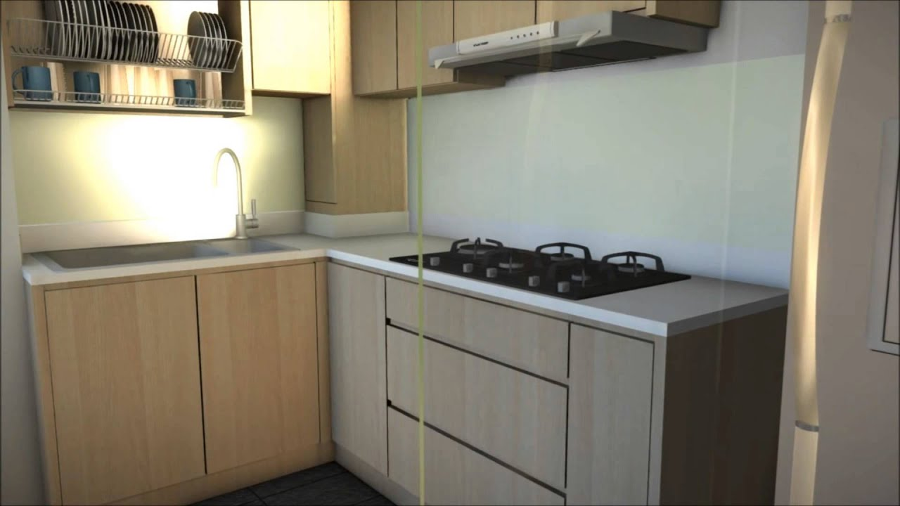 3 bedroom hdb unit 520 ang mo kio ave youtube for Kitchen design for 5 room hdb flat