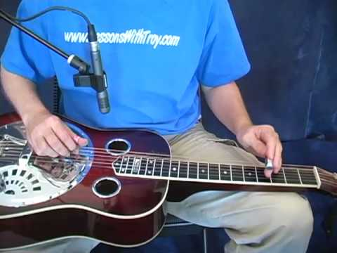 Shady Grove - Dobro Lesson - DADGAd Tuning