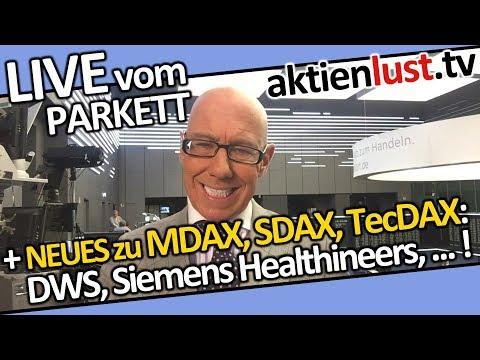 MDAX, SDAX, TecDAX | Delivery Hero, Stada, Siemens Healthineers, DWS, Aumann | aktienlust