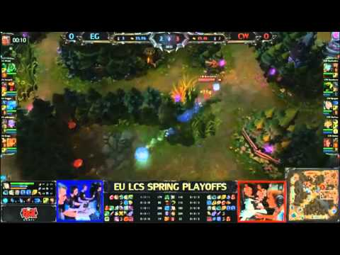 Game 1 - BO3 - EG vs CW - LCS 2013 - Evil Geniuses vs Copenhagen Wolves
