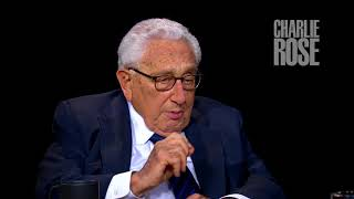 "Henry Kissinger on POTUS ""fire and fury"" rhetoric (Aug 17, 2017) 
