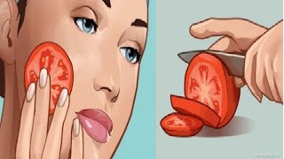 Rub a Freshly Cut Tomato on Your Face for a Minute Here's The Incredible Effect !