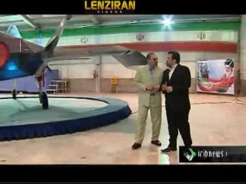 Amadinejad Ahmadinejad unveiled Iran's new  fighter jet