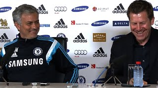 Jose Mourinho Plays Prank On Chelsea