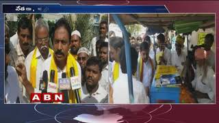 TDP Leader Adinarayana Reddy Starts Election Campaign In Pulivendula |  ABN Telugu