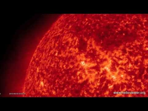4MIN News June 3, 2013: MAJOR Euro Flooding, Sunspot Develops