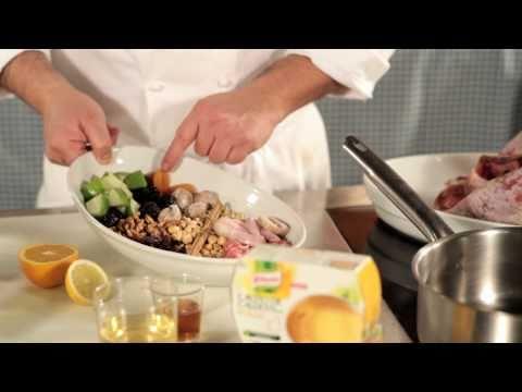 Knorr España - Receta de Pavo Relleno Asado al Horno con Cacito de Caldo Knorr