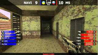 Кубок TECHLABS 2012: Na`Vi -vs- M5 (inferno)