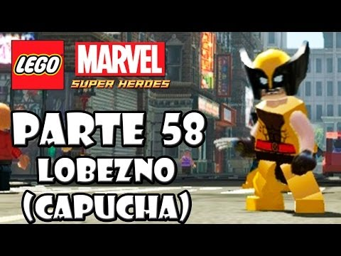 LEGO Marvel Super Heroes Guía - Desbloqueo de Personajes - Parte 58 - Lobezno (capucha)