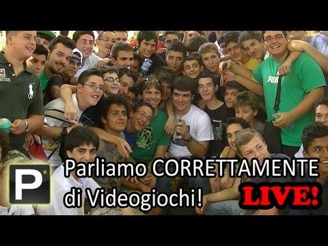 Parliamo Correttamente di Videogiochi – Ep EXTRA Live @ Roma
