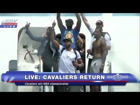 FNN: Cavaliers return home after winning NBA championship