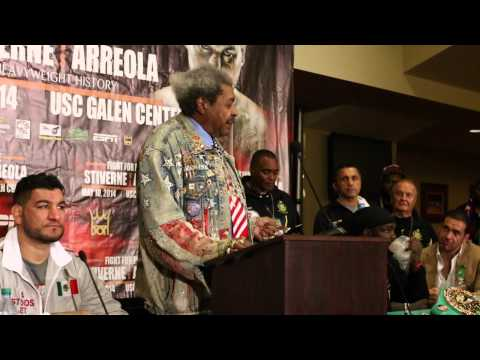 Don King is back on top...and he lets everyone know it for 16 minutes straight