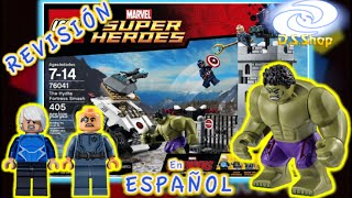 ✅ Lego Super Heroes el Set MAS DIFICIL AVENGERS Hydra Fortress Smash Set 76041 Reviews en Español