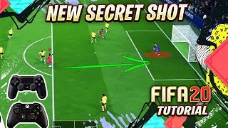 FIFA 20 NEW HIDDEN CONTROLS - THE SECRET SHOT TUTORIAL !!! FIFA 20 SPECIAL FINISHING TECHNIQUE