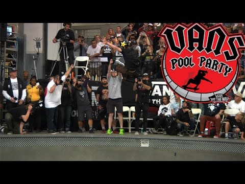 Vans Pool Party 2017: Clay Kreiner's 3rd Place Run