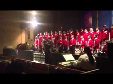 "Cardinal Shehan school 2012 choir ""Freedom"" - 03/17/2012"